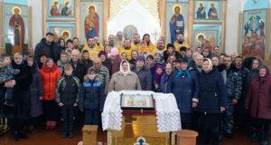 Соборное богослужение Становлянского благочиния