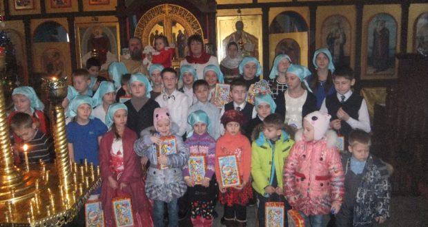 Рождественский утренник в Измалково
