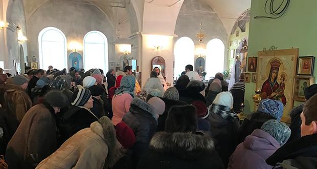 Вдень памяти мучеников 14000 Вифлеемских младенцевв Вознесенском храме г. Чаплыгина был отслужен Покаянный молебен о грехе детоубийства