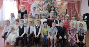 Лебедянские дошкольники празднуют Рождество Христово