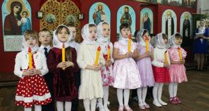 Рождественский концерт в Никольском храме г. Лебедянь