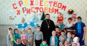 Рождественские утренники в селах Конюшки и Троекурово Чаплыгинского благочиния