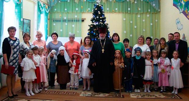 Рождественское представление в детском саду «Теремок»