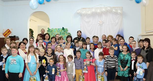 Рождественский концерт в ВШ Вознесенского храма г. Чаплыгина
