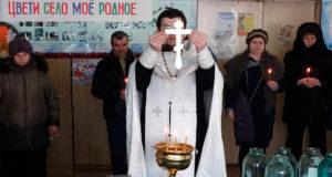 Крещенский сочельник в Троекуровском приходе