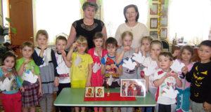 В детском саду «Теремок» г. Чаплыгина прошло занятие по «Основам православия».