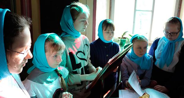 Совместная литургия детей воскресных школ Чаплыгинского благочиния