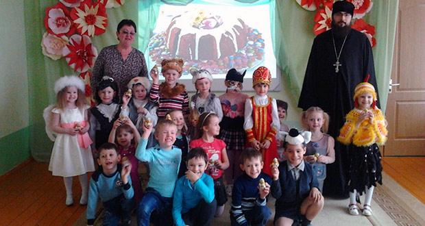 На Светлой седмице в детских садах «Теремок» и «Солнышко» г. Чаплыгина прошли Пасхальные утренники