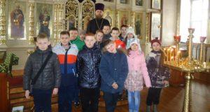 Учащиеся лицея №4 г.Данкова совершили экскурсию в Георгиевскую церковь