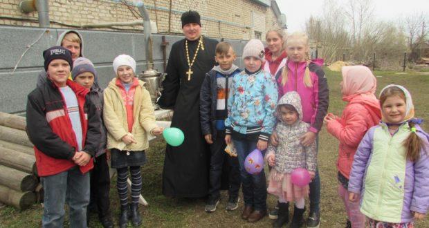 В праздник Воскресения в храме Данкове прошло мероприятие
