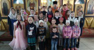 Праздничный концерт в храме Владимирской иконы Божией Матери