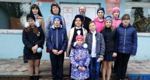 Учашиеся воскресной школы храма Владимирской иконы Божией Матери с. Измалково посетили больницу