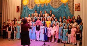Пасхальный концерт воскресных школ Чаплыгинского благочиния и музыкальных коллективов города