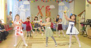 В детских садах с.Долгоруково прошли праздничные концерты