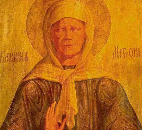 В елецкий храм прибудет частица мощей Матроны Московской