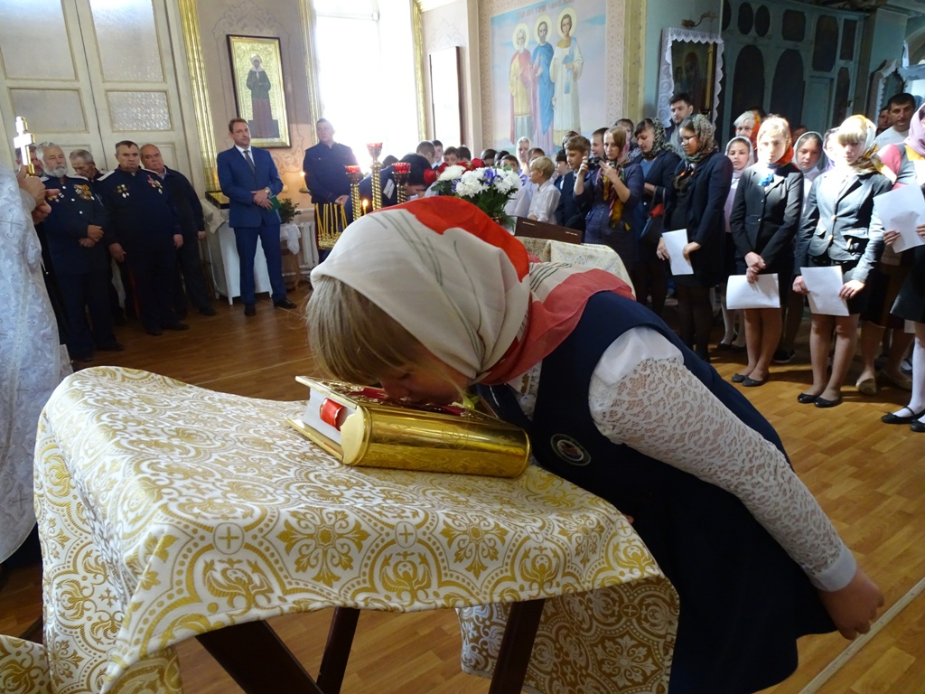 В Данкове юные казаки и казачки приняли присягу