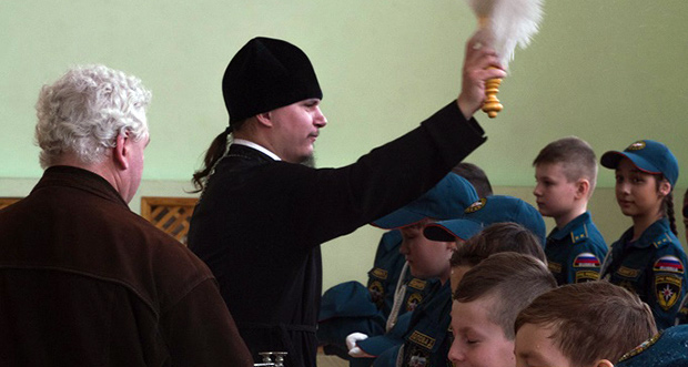 Посвящение в кадеты в п. Лев Толстой