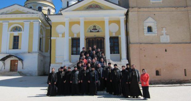 В Старицком монастыре состоялась коллегия руководителей молодежных отделов епархий