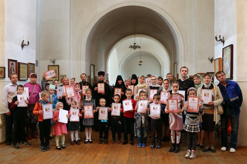 В воскресной школе Знаменского монастыря подведены итоги учебного года