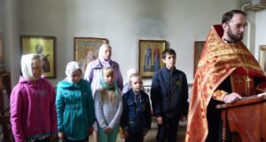 Окончание занятий в ВШ «Глаголъ» Никольского (Зареченского) храма