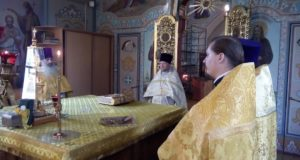 В Лев-Толстовском благочинии состоялось соборное служение духовенства