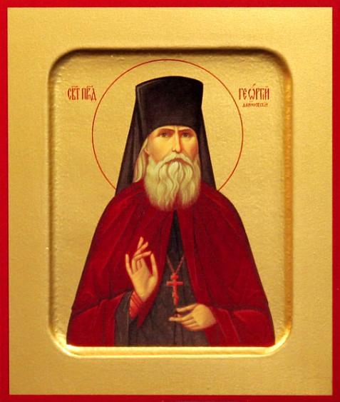 Икона преподобноисповедника Георгия (Лаврова)