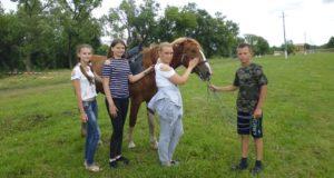 В Казаках прошел палаточный лагерь «Казачий стан»