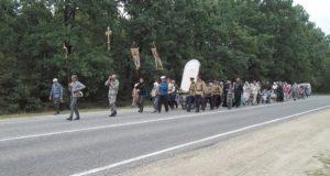 О третьем дне крестного хода Елец-Задонск