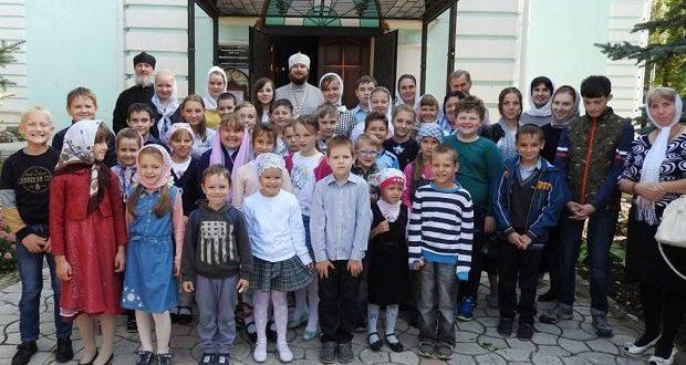 Молебны на начало учебного года в воскресных школах Чаплыгинского благочиния