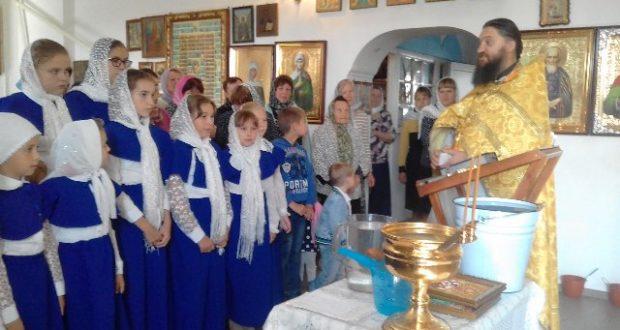 В воскресной школе Никольского храма с. Лавы начался новый учебный год