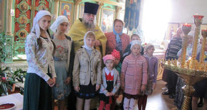 Молебен на начало нового учебного года в воскресной школе Троицкого храма