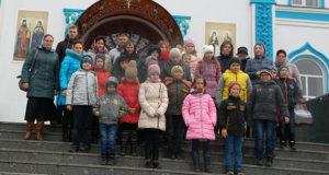 Паломническая поездка в Задонск детей и родителей воскресной школы Успенского храма