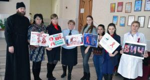 Клирик Троицкого собора г. Чаплыгина принял участие в акции «Здоровая нация»
