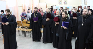 Открытие Муниципального этапа XXVI Международных Рождественских Образовательных чтений в Чаплыгинском благочинии