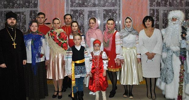 """Клуб """"Благовест"""" поздравил воспитанников интерната с наступающими праздниками"""