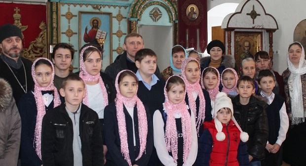 В Вознесенском храме села Берёзовка прошли Рождественские чтения