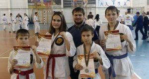 Команда Елецкой епархии приняла участие в турнире по рукопашному бою