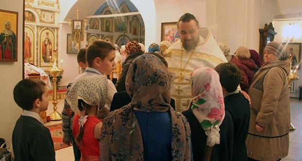 Неделя православной культуры в в средней школе с. Большое Попово