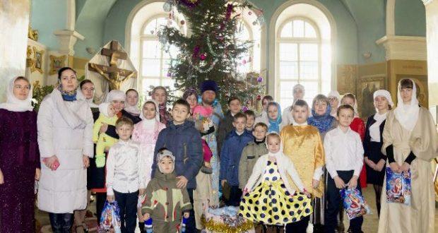 Рождественский утренник в Тихвинском cоборе г. Данкова