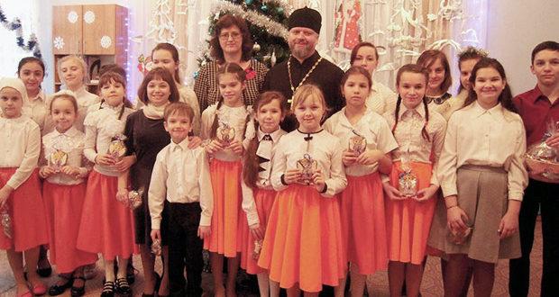 Рождественское мероприятие для детей МБДОУ детского сада №25 г. Ельца