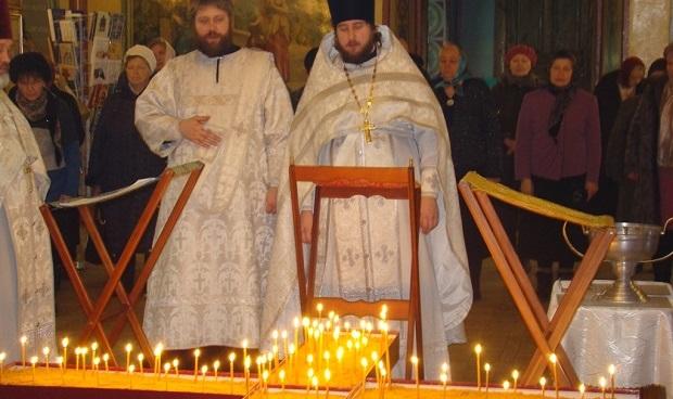 В соборе Чаплыгина был отслужен покаянный молебен о грехе детоубийства