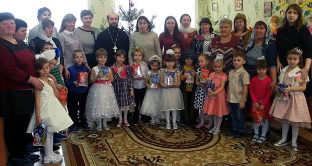 Рождественские утренники в детских садах с. Долгоруково