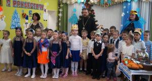 Рождественский утренник в детском садике с. Становое