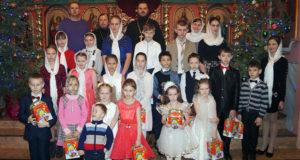 В воскресной школе Введенского храма с. Становое состоялся Рождественский утренник