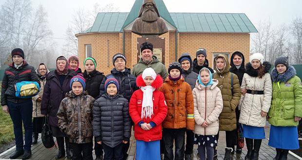 Паломническая поездка детей из воскресных школ поселка Агроном и села Волотово
