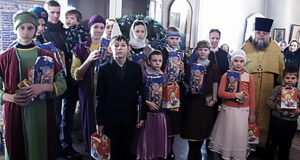 Рождественский утренник в Троицком храме с. Братовщина