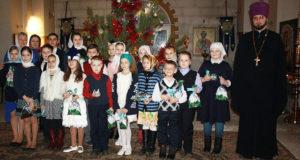 Рождественский концерт в Никольском храме г. Чаплыгина