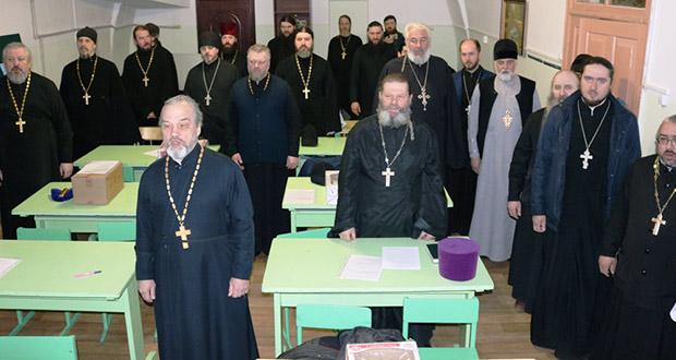 Семинар «Трезвенная работа на приходе» среди духовенства благочиний г. Лебедяни, г. Ельца и Елецкого района