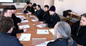 Семинар «Трезвенная работа на приходе» среди духовенства Данковского и Лев Толстовского благочиний