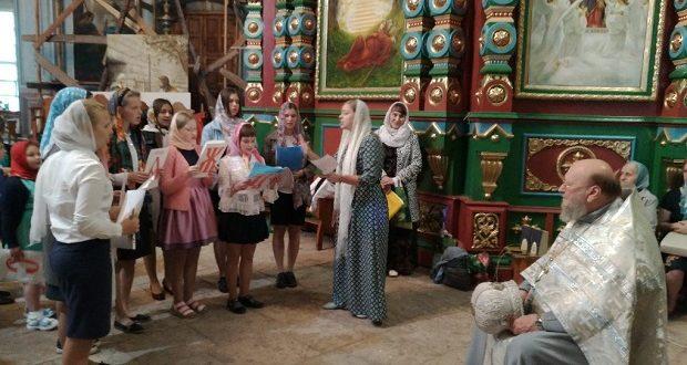 Окончание учебного года в воскресной школе Казанского собора